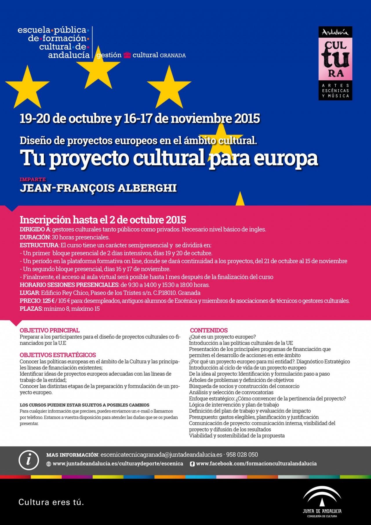 CARTEL PROYECTOS EUROPEOS -